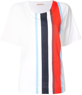 Marni striped short-sleeve T-Shirt