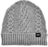 Edwin United Knit Beanie Hat Grey
