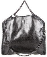 Stella McCartney Embossed Falabella Fold-Over Tote