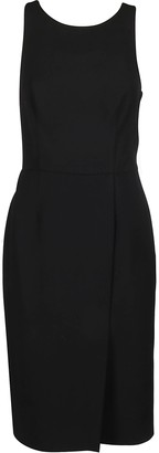 Givenchy Sleeveless Graphic Neck Dress