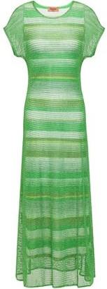Missoni Metallic Open-knit Maxi Dress