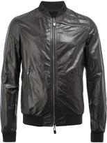 Drome reversible jacket - men - Lamb Skin/Polyester/Polyamide/Spandex/Elastane - XL