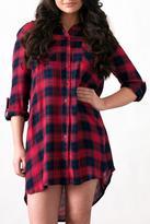 Re-Order Plaid Shirt Dress