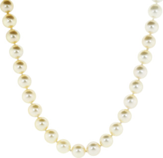 Baggins White and Golden South Sea Pearl Necklace