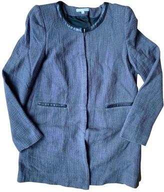 BA&SH Grey Cotton Jacket for Women