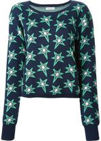 Emma Cook star print sweater