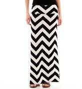 A.N.A a.n.a Foldover Wide Waistband Knit Maxi Skirt - Petites