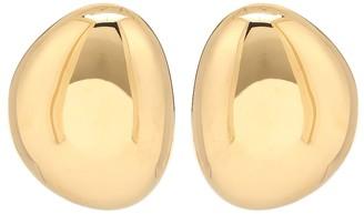 Marni Brass clip-on earrings