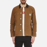 Carhartt Michigan Chore Canvas Coat Hamilton Brown/tobacco