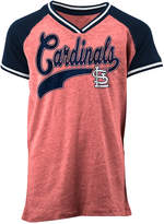 5th & Ocean St. Louis Cardinals Rhinestone Script T-Shirt, Girls (4-16)