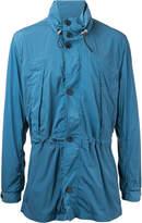 Cerruti buttoned rain coat