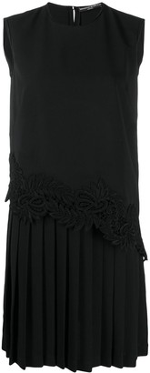 Ermanno Scervino Pleated Shift Dress