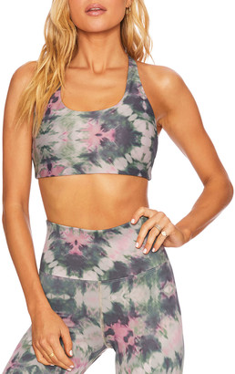 Beach Riot Rocky Tie-Dye Sports Bra Top