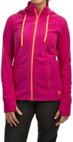 Mountain Hardwear Microchill Fleece Hoodie - Full Zip (For Women)