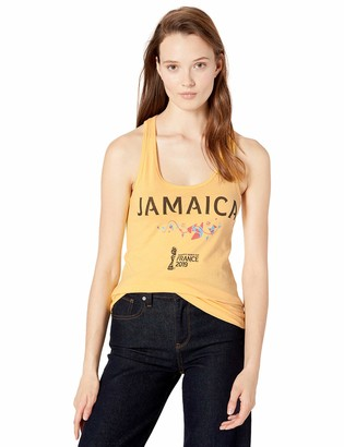 Fifth Sun Womens Junior Officially Licensed FIFA Jamaica Junior's Racerback Tank Shirt