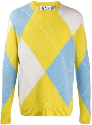 Pringle Reissued large scale argyle jumper