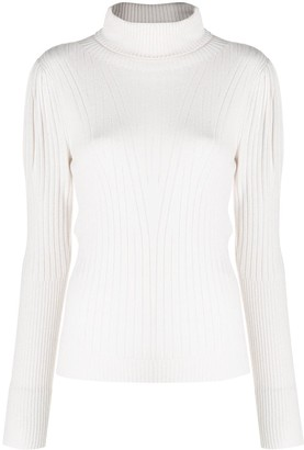 D-Exterior Roll Neck Jumper