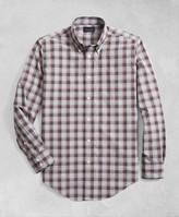 Brooks Brothers Golden Fleece Regent Fit Multi-Plaid Flannel Sport Shirt