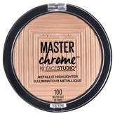 Maybelline Face Studio Master Chrome Metallic Highlighter 100 Molten Gold - 0.24oz