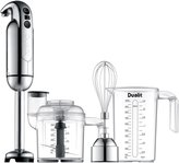Dualit Immersion Blender with Accessory Kit, Chrome - Chrome