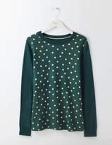 Boden Vivian Woven Mix Sweater