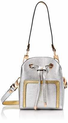 Luana Italy Women's Margherita Mini Bucket Leather Handbag