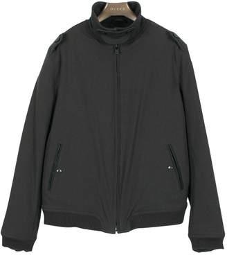 Ermenegildo Zegna Grey Synthetic Jackets