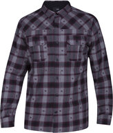 Hurley Men's Harper Geo Plaid Shirt