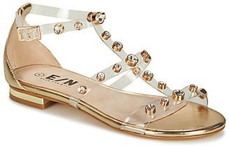 Elue par nous GENEPI women's Sandals in Silver