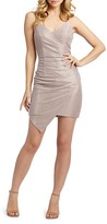 Thumbnail for your product : Mac Duggal Draped Shimmer Open-Back Dress