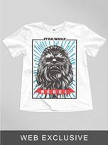 Junk Food Clothing Kids Boys Star Wars The Force Awaken Chewie Tee-elecw-s