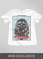 Junk Food Clothing Kids Boys Star Wars The Force Awaken Chewie Tee-elecw-xs