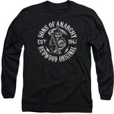 SOA Sons of Anarchy TV Show Redwood Originals Adult Long Sleeve T-Shirt Tee