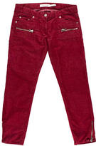 Etoile Isabel Marant Corduroy Skinny-Leg Pants