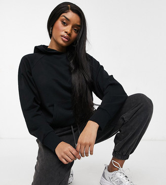 ASOS DESIGN Petite ultimate hoodie in black