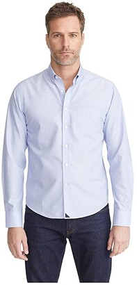 UNTUCKit Hillside Select - Wrinkle Free (Blue) Men's Clothing