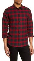 Life After Denim Dark Shadow Regular Fit Plaid Button-Up Flannel Shirt