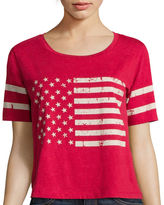 Miss Chievous Short-Sleeve Flag Americana Washed Tee