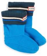 Hunter Buoy Stripe Cuff Welly Socks (Walker, Toddler & Little Kid)