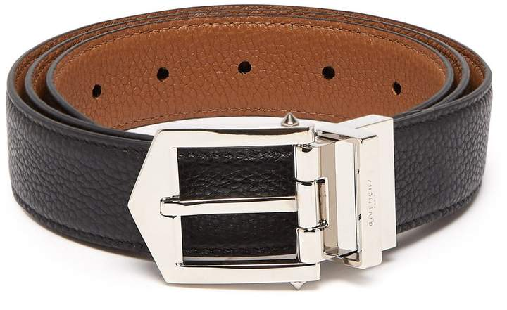 Givenchy Obsedia reversible leather belt