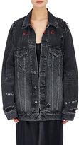 Denim x Alexander Wang Women's Daze Distressed Denim Jacket