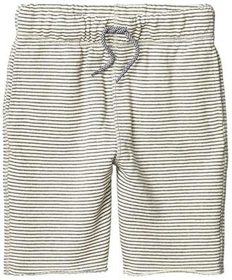 Appaman Kids Camp Shorts (Infant/Toddler/Little Kids/Big Kids) (Grey Stripe) Boy's Shorts