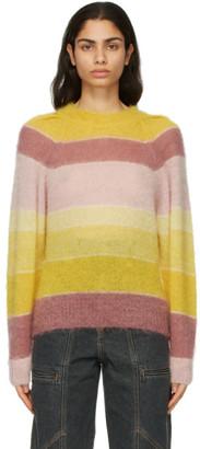 Etoile Isabel Marant Multicolor Striped Daniel Sweater