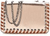 Jessica Simpson Zamia Velvet Whip-Stitched Metallic Cross-Body Bag