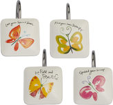 Creative Bath Creative BathTM Flutterby Shower Curtain Hooks