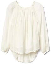 Gap Embroidered long sleeve top
