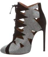 Alaia Stingray Laser Cut Booties