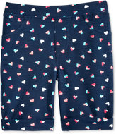 Epic Threads Mix and Match Heart-Print Bermuda Shorts, Toddler & Little Girls (2T-6X), Only at Macy's