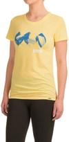 Janji Sketch Logo T-Shirt - Short Sleeve (For Women)
