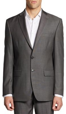 Calvin Klein Classic-Fit Wool Jacket